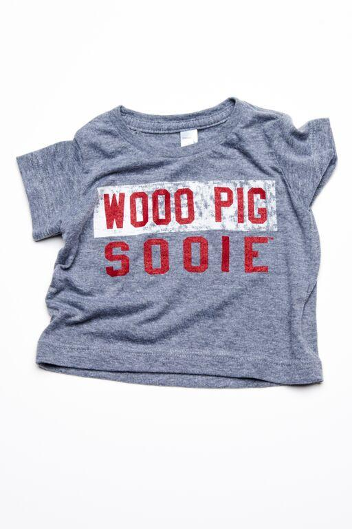 Children's Wooo Pig Sooie Block Art Tee - shoplivylu