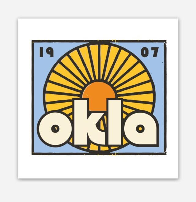 Oklahoma Sun Decals (3942106333287)