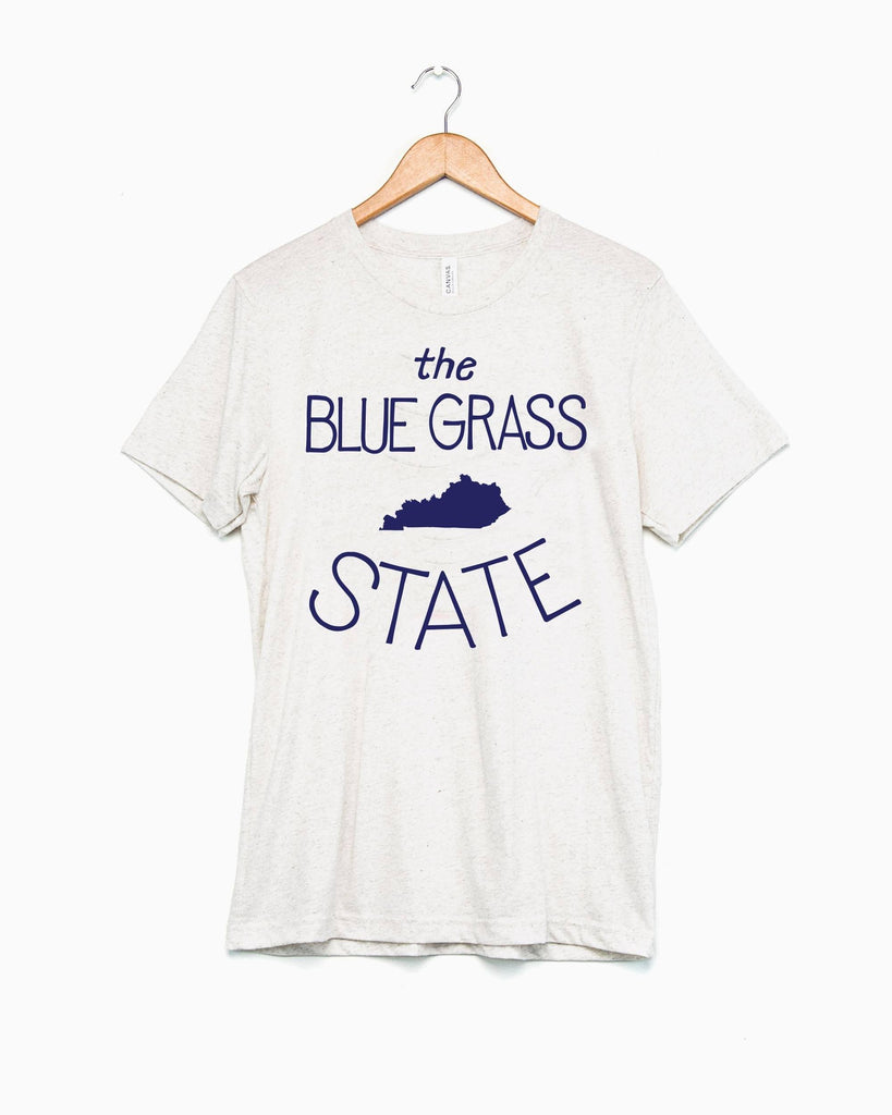 The Bluegrass State Oatmeal Tri-Blend Tee (FINAL SALE)