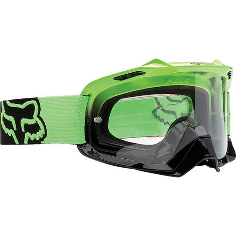 Fox Air Space Green/Black Fade/ Clear - motoedge  - 1