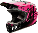 Fox V1 Youth Vandal Pink Helmet - motoedge  - 2