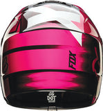 Fox V1 Youth Vandal Pink Helmet - motoedge  - 4