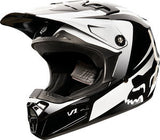 Fox V1 Youth Imperial Black/White Helmet - motoedge  - 2