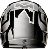 Fox V1 Youth Imperial Black/White Helmet - motoedge  - 4