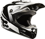 Fox V1 Youth Imperial Black/White Helmet - motoedge