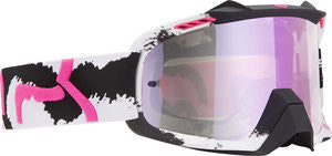 Fox Air Space Marz White/ Pink/ Pink Spark Goggle - motoedge  - 1
