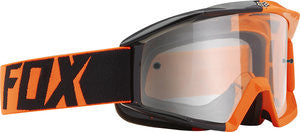 Fox Air Space Orange/Black/Fade Clear Goggle - motoedge  - 1