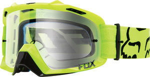 2016 Air Defence Race Yellow/ Clear Goggles - motoedge