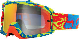 2016 Air Space Cauz SPK Yellow/Red Red Spark Goggle - motoedge