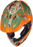 HJC ORANGE DYNASTY CL-X7 Size: LARGE SALE - motoedge  - 2