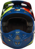 Fox V1 Navy/Yellow Helmet - motoedge  - 5