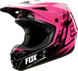 Fox V1 Pink Helmet - motoedge  - 2
