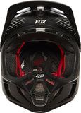 Fox V4 carbon reveal black - motoedge  - 5