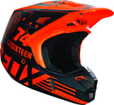 2016 Fox V2 Union Helmet Orange - motoedge  - 1