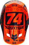 2016 Fox V2 Union Helmet Orange - motoedge  - 5