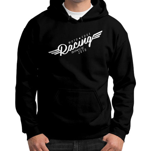 Gildan Hoodie (on man) - motoedge  - 2