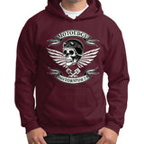 Gildan Hoodie (on man) - motoedge  - 5