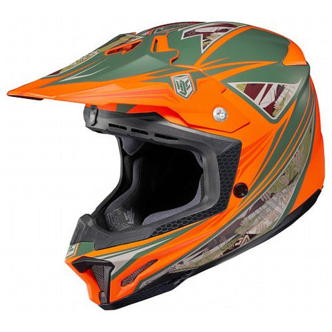 HJC ORANGE DYNASTY CL-X7 Size: LARGE SALE - motoedge  - 1