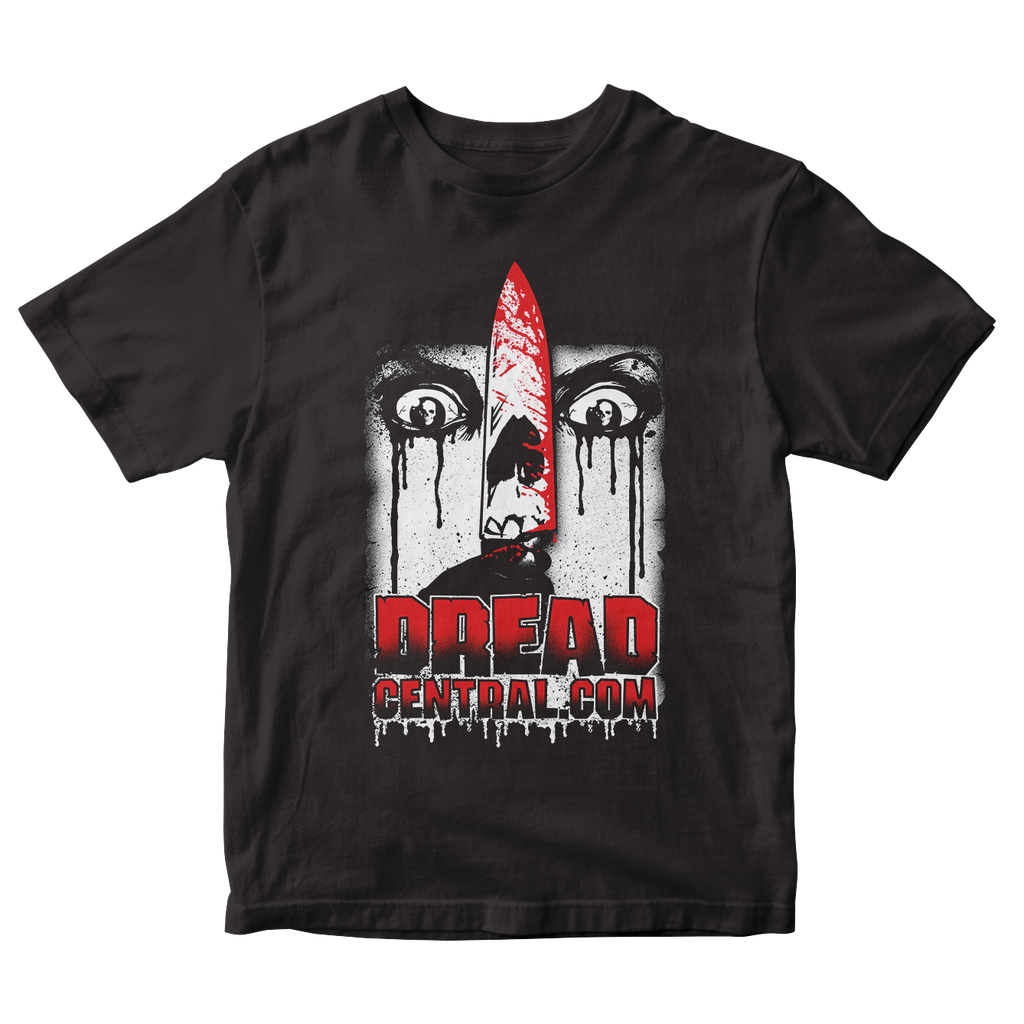DREAD CENTRAL LOGO BY GHOULISH GARY T-SHIRT