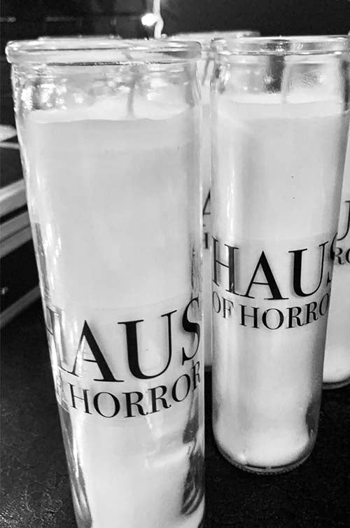 Haus of Horror Candle
