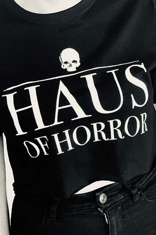 Haus of Horror Crop Top