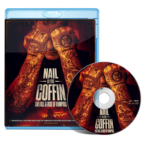 Nail In The Coffin: The Fall & Rise of Vampiro Blu-ray