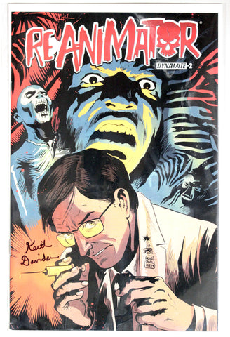 Reanimator #2 Signed by Keith Davidsen Variant Cover