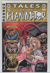 Reanimator #3 Signed in Silver by Keith Davidsen EC Style Variant Cover