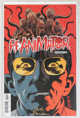 Reanimator #3 Signed in Gold by Keith Davidsen Variant Cover