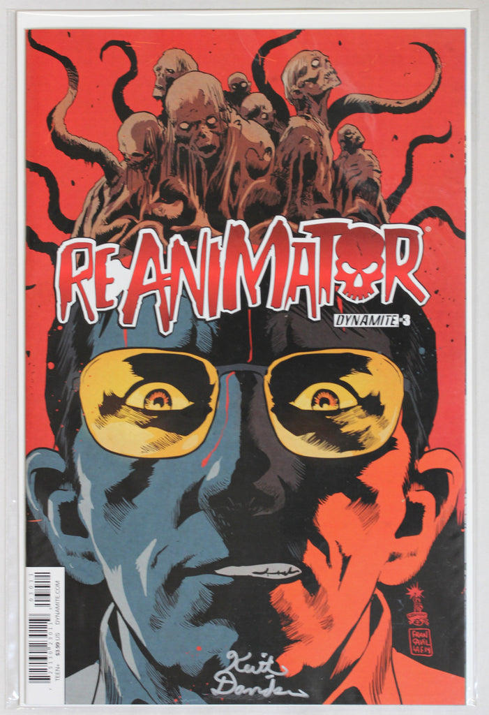 Reanimator #3 Signed in Silver by Keith Davidsen Variant Cover
