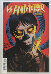 Reanimator #4 Signed by Keith Davidsen Variant Cover