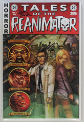 Reanimator #4 Signed by Keith Davidsen EC Style Variant Cover