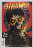 Reanimator #4 Signed in Silver by Keith Davidsen Variant Cover