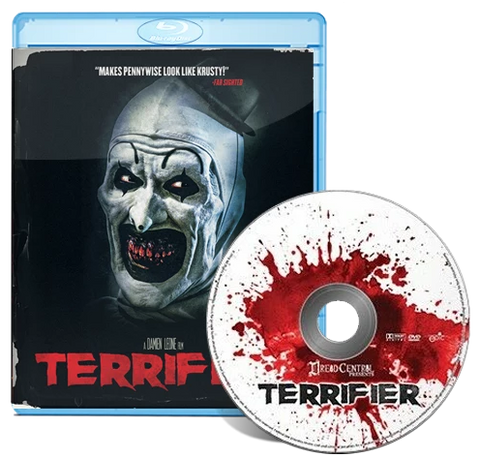 TERRIFIER DVD/Blu-ray