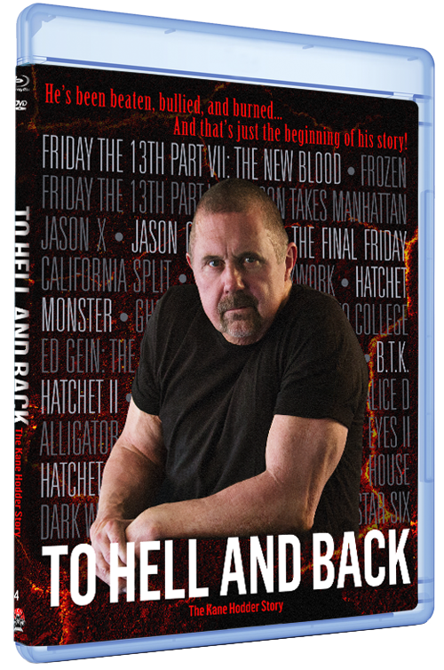 TO HELL AND BACK: THE KANE HODDER STORY DVD + Blu-ray