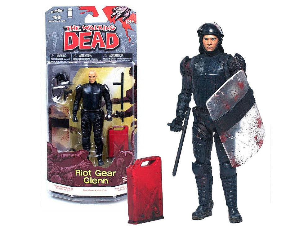 The Walking Dead Riot Gear Glenn Comic Version