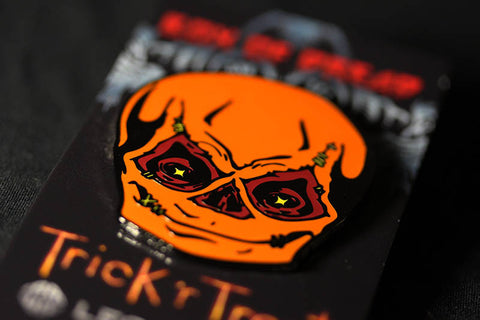 Trick r Treat Sam Unmasked Enamel Pin