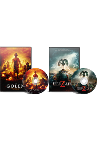 Paz Brother's Double Feature: The Golem DVD/Jeruzalem DVD