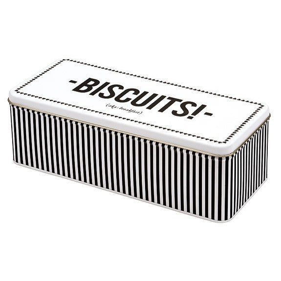 Alice Scott Rectangular Biscuit Tin
