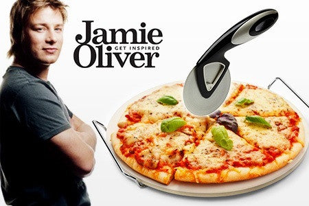 Jamie Oliver Pizza Stone and Serving Rack