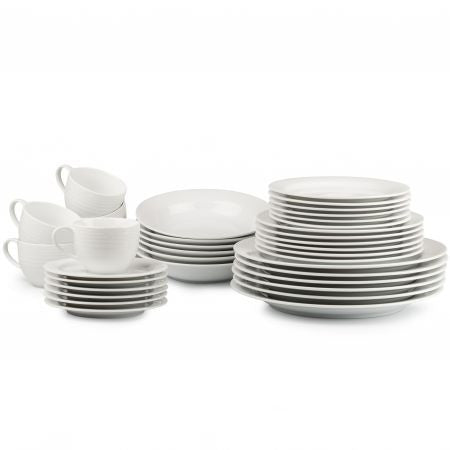 Noritake Arctic White 36 Piece Dinner Set