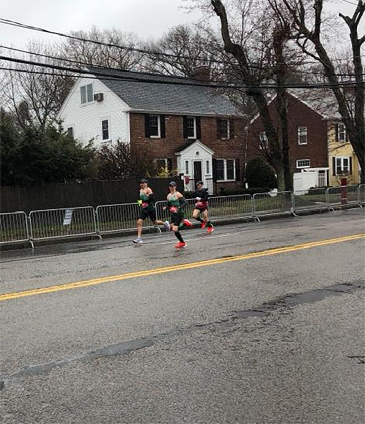 MRC Men Win Boston Marathon Team Title; Puffer Sets Another Record