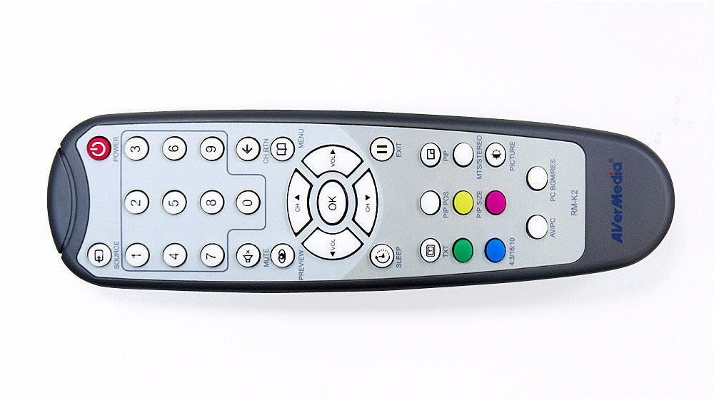 Remote Control for TVBox 7, TVBox 9 and DVI Box 7