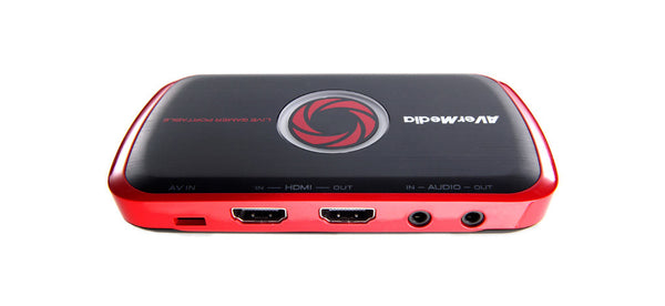 Live Gamer Portable side view showing ports