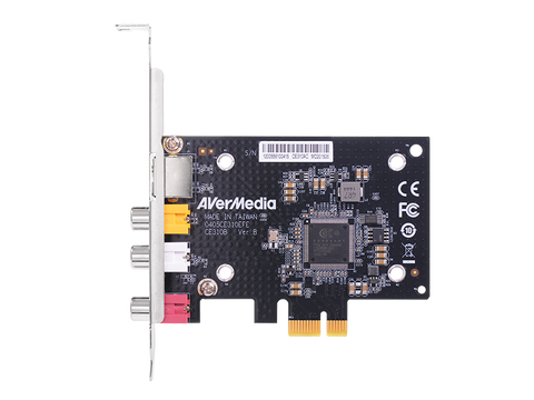 SD PCIe Video Capture Card with Composite / S-Video Interfacing (CE310B) front view