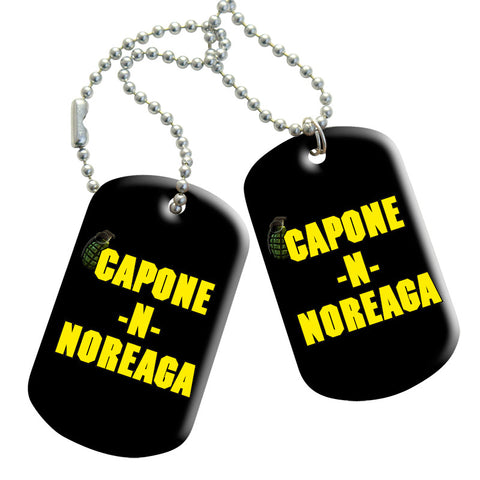 Capone-N-Noreaga Lessons Dog Tags