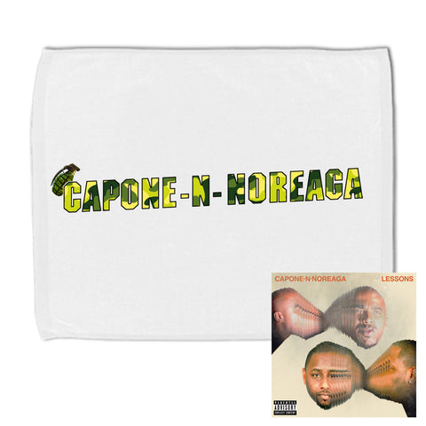 Capone-N-Noreaga Lessons Gym Towel and CD Bundle