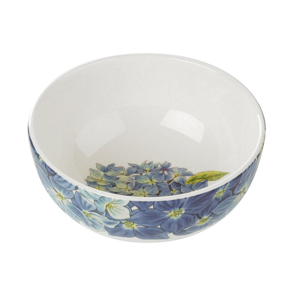 Portmeirion Botanic Blooms Hydrangea Cereal Bowl 13.4cm (Set of 4)