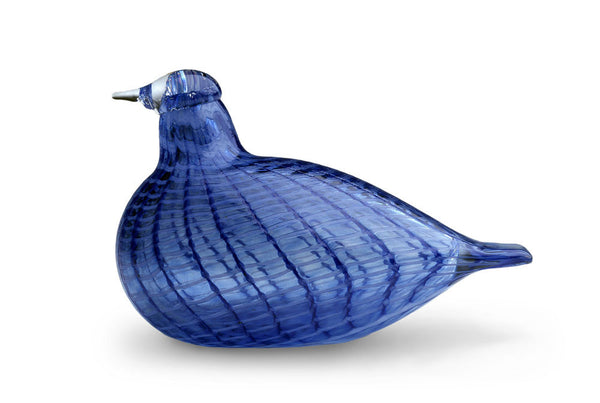 Iittala Toikka Birds Blue Bird 12cm by 8.5cm