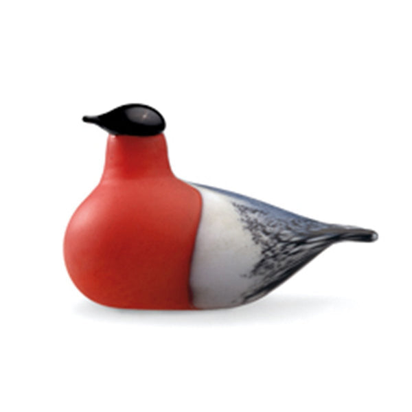 Iittala Toikka Birds Bullfinch 15cm by 8cm